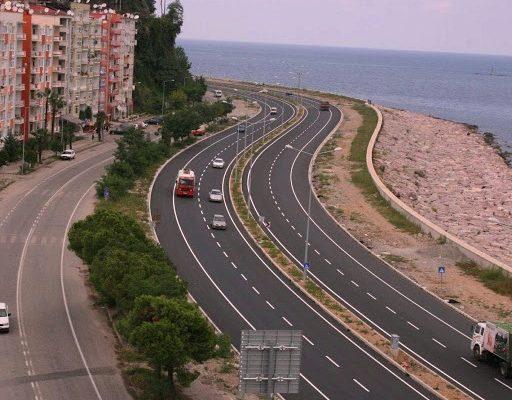 karadeniz sahil yolu türkiyenin önemli ve aktif projelerinden biridir.