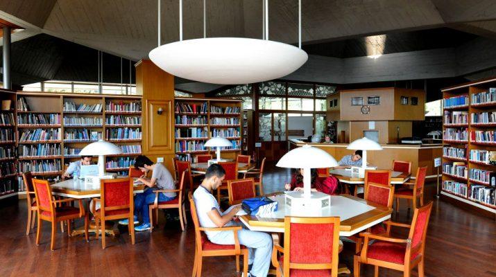 gece açık kütüphane
